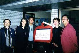 神戸「ビッグアップル」・Mostly 関西ツア- 2002 with 愛川篤人