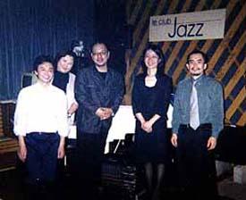 京都「ルクラブジャズ」・Mostly 関西ツア- 2002 with 愛川篤人